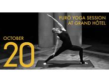 Söndagen den 20 oktober förvandlas den historiska Vinterträdgården för första gången till ett yogaevent.