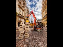 Franske gravemaskinførere elsker tiltrotatorer