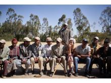 Sängerin MOGLI mit Viva con Agua in Äthiopien