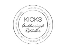 KICKS authorized retailer