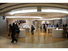 Apple Retailer Using BKB Engineered Wood Flooring