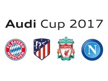 Audi Cup 2017 - FC Bayern München, Atlético de Madrid, FC Liverpool og SSC Napoli