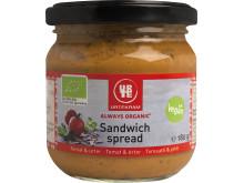 Urtekram sandwich spread tomaatti & yrtit luomu