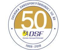 DSF50_jubileumslogo