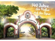 140 Jahre Zoo Leipzig - Jubiläumsplakat 2018