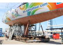 Story Image - Coppercoat - last Clipper 70 re-launched, after having Coppercoat applied