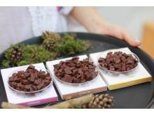 Choklad med smaker från skogen