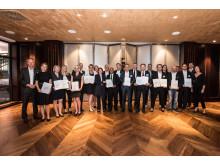 Gala-Abend Champions in der Kundenbegeisterung 2017_Gruppenbild