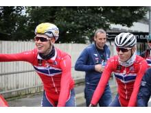 Leknessund og Hvideberg  under sykkel-VM i Bergen