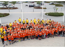 Linde Sports Camp 2019 gruppbild