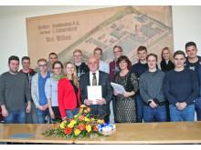 Kooperationsvereinbarung mit der Carl-Zeiss-Oberschule Berlin