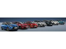Elhybrider har tagit över efter diesel hos Toyota