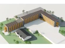 Det nya flygplatshotellet på Harstad Narvik Flygplats Evenes i Nord-Norge