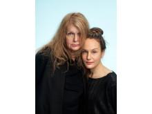 Kristina Lugn och Sarah Riedel. Foto: Thron Ullberg