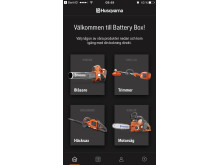 Husqvarna Battery Box App-1