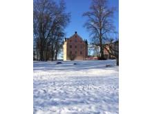 Skånelaholm snö
