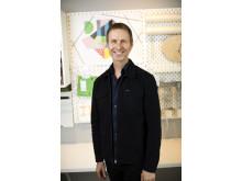Jonas Carlehed, hållbarhetschef IKEA Sverige stående