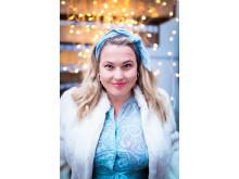 Helene Bøksle stiller opp som årets juleartist for Frelsesarmeen. Foto: Kristianne Mårøy/Krigsropet