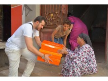 QNET Egypt - Food Box distribution to needy families