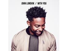 Omslag, With You, John Lundvik