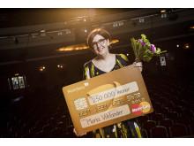 Maria Viklander, en av vinnarna av Sigge Thernwalls Stora Byggpris 2015