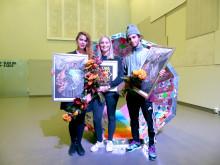 Cecilia Hammarberg, Beatrice Olofsson och Samir Zeraik
