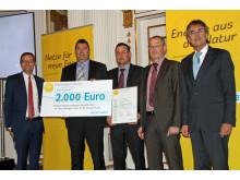 Bürgerenergiepreis Oberpfalz 2015: LED-Sportplatzbeleuchtung