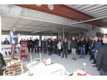 JYSK topping-out ceremony 2017