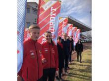 Karlstad värmer upp inför Friidrotts-SM 2019.