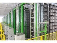 24 Schäfer Carousel-systemer har en plukningsrate på 1.000 pluk/time