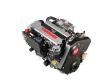Hi-res image -  YANMAR - the award-winning YANMAR 3JH40 common rail inboard engine