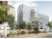 Ny stadsdel vid Solnavägen