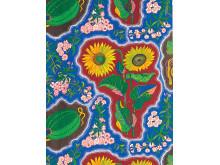 Textile print Dixieland by Josef Frank