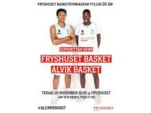 Firande av Basketgymnasiet 20 år