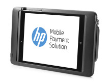 HP 8t Retail Jacket with Tablet left facing