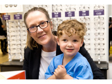 Barrow toddler's battle with rare eye cancer revealed at opening of new optician
