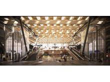 Oslo Lufthavn 2017 - ny togstasjonen