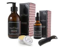 Produkter for pleie av skjegg og bart!
