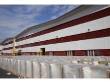 Under försommaren 2013 kommer byggnationen stå färdig av logistikcentret.