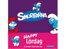 Happy Lördag Smurfar