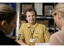 IKEA belønner loyale medarbejdere igennem Tack!