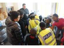 The workshop proved popular with young people from African Challenge Scotland