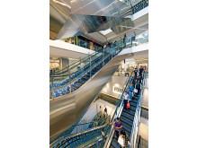 KONE escalators at 313@Somerset, Singapore