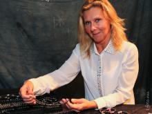 Jeanette Eldin från Master Design besökte lanseringen av AvZ Jewellery
