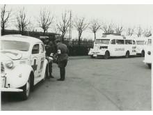 De Hvide Busser - sort/hvid-billede fra besættelsestiden