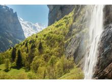 Staubbachfall im Lauterbunnental (Bern)