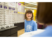 Nine-year-old eye cancer survivor opens new Doncaster optician