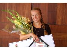 Anna-Eva Olsson, lärare på Riksgymnasiet för döva och hörselskadade, Tullängsgymnasiet