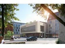 Visualisierung Maritim Hotel Ingolstadt  und Congress Centrum