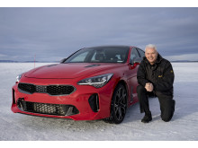 Albert Biermann med Kia Stinger